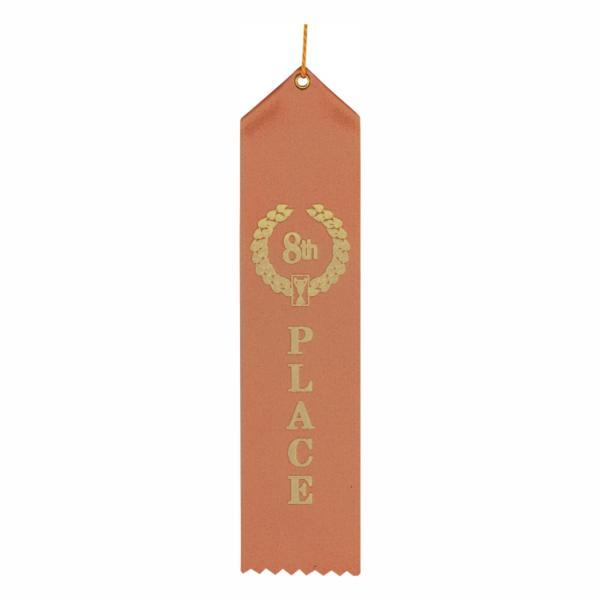 """SW508. 8th PLACE 2"""" X 8"""" RIBBON : Awards Atlanta"""