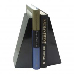 BLACK MARBLE PROFESSIONAL BOOKEND OR (SET OF 2)