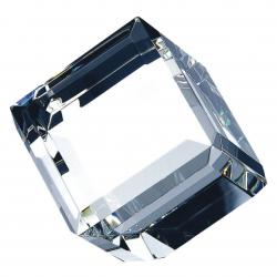 BEVELED DIAMOND CRYSTAL CUBE