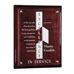 HIGH GLOSS CHERRY PLAQUE