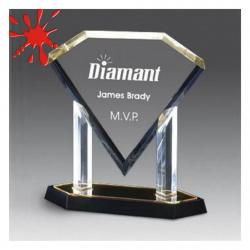 ACRYLIC DIAMOND PLAQUE