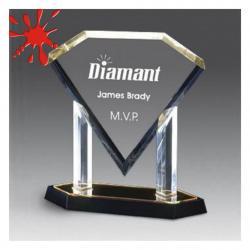 ACRYLIC DIAMOND PLAQUE