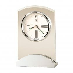 ALUMINUM/GLASS TRIBECA CLOCK