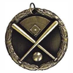 BASEBALL (CROSSED BATS) MEDAL