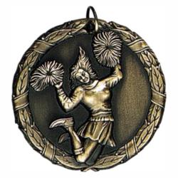 CHEERLEADER (FEMALE) MEDAL