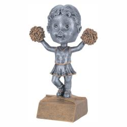 CHEERLEADER BOBBLE HEAD (FEMALE)