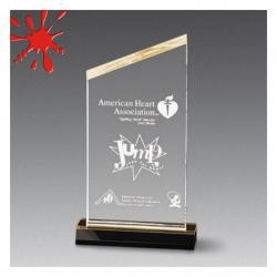 ACRYLIC BEVELED PEAK AWARD