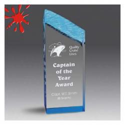 ACRYLIC CHISELED EDGE AWARD