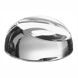 CRYSTAL SLANT FRONT PAPERWEIGHT