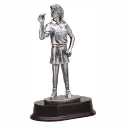 DART (FEMALE) RESIN TROPHY