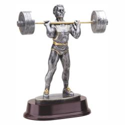 WEIGHTLIFTER (PRESS) RESIN TROPHY