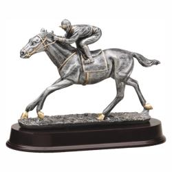 HORSE RACING RESIN TROPHY