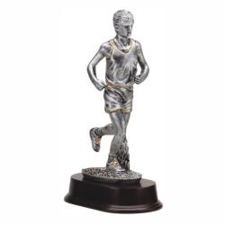 RUNNER (MALE) RESIN TROPHY