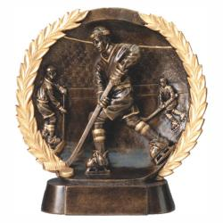 HOCKEY (MALE) WREATH RESIN