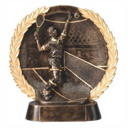 TENNIS (MALE) WREATH RESIN