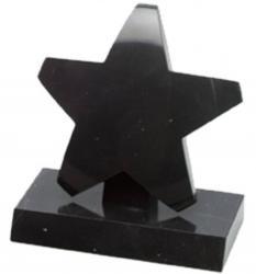 STAR ON BLACK BASE