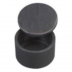 BLACK ROUND MARBLE BOX
