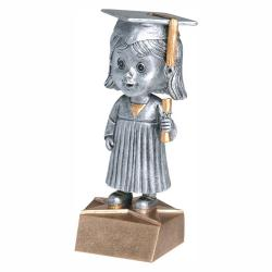 GRADUATE BOBBLE HEAD (FEMALE)