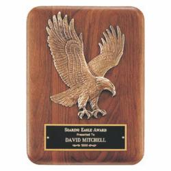 BRONZE EAGLE CASTING PLAQUE