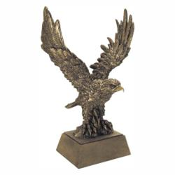 GOLD TONE EAGLE RESIN AWARD