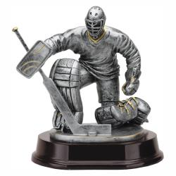 ICE HOCKEY GOALIE RESIN TROPHY