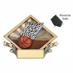 BASKETBALL RESIN DIAMOND PLATE