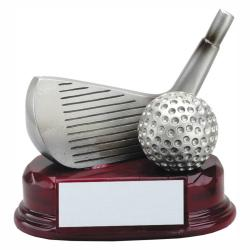 GOLF CLUB WEDGE RESIN TROPHY