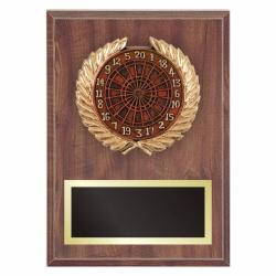 DARTS PLAQUE WITH RESIN RELIEF