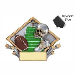 FOOTBALL RESIN DIAMOND PLATE