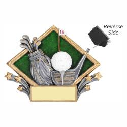 GOLF RESIN DIAMOND PLATE