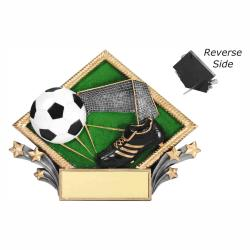 SOCCER RESIN DIAMOND PLATE