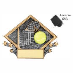 TENNIS RESIN DIAMOND PLATE