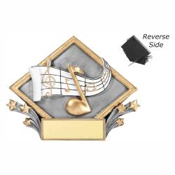MUSIC RESIN DIAMOND PLATE