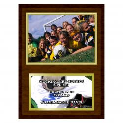 9 X 12 PHOTO PLAQUE