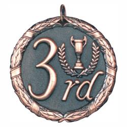 3RD PLACE BRONZE MEDAL