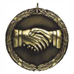 HAND SHAKE MEDAL