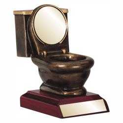 TOILET RESIN TROPHY