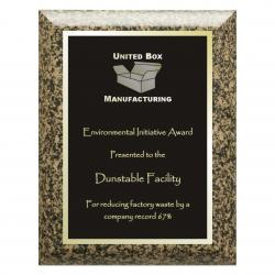 MOCHA GRANITE BIOCOMPOSITE PLAQUE