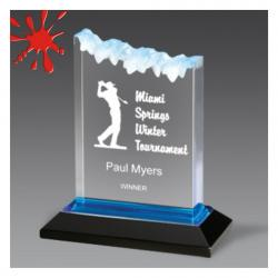 FROSTED IMPRESS ACRYLIC AWARD
