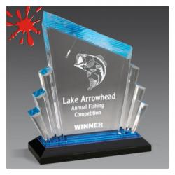 CARVED IMPRESS ACRYLIC AWARD