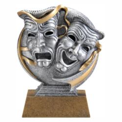 MX 3D DRAMA MASKS RESIN AWARD