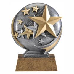 MX 3D STARS RESIN AWARD