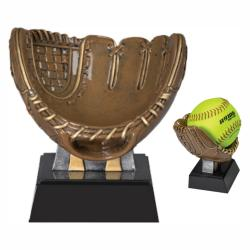 MX SOFTBALL HOLDER RESIN AWARD