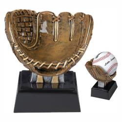 MX BASEBALL HOLDER RESIN AWARD