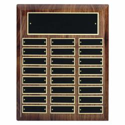 10.5 X 13 HIGH GLOSS WALNUT PERPETUAL PLAQUE