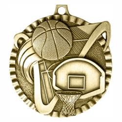 BASKETBALL V SERIES MEDAL