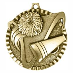 CHEERLEADING V SERIES MEDAL
