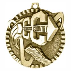 CROSS COUNTRY V SERIES MEDAL