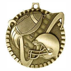 FOOTBALL V SERIES MEDAL