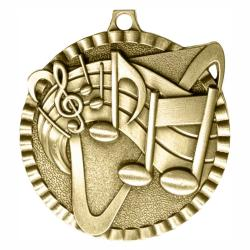 MUSIC V SERIES MEDAL